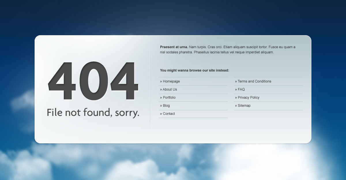 Website 404 Not Found: How Ecommerce Owners Can Decipher Mysterious ...